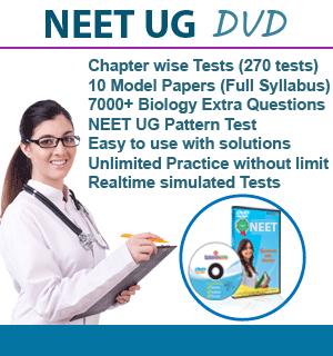 NEET UG Model Papers DVD