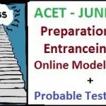 ACET Preparation