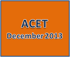 acet december 2013