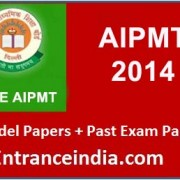 AIPMT-2014 Model papers