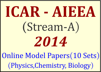 aieea stream a model papers, aieea sream a sample papers, icar aieea model papers, icar aieea practice papers