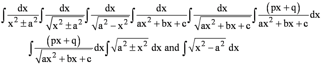 application of integration area between curves