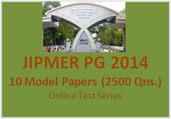 jipmer pg 2014 model papers
