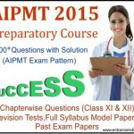 AIPMT 2015(preparatory course)
