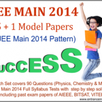 Jee main model papers