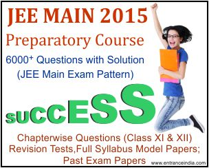 jee main-prepartory cours 2015