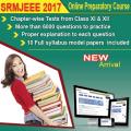 SRMJEEE (2017) Online Preparatory Course