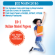 JEE Main Online Model Papers(10+1 Sets)(2016)(Product)