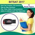 BITSAT 2017 Model Papers Pen Drive (10 Sets)