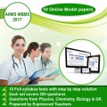 AIIMS MBBS (2017) Online Model Papers (10 Sets)