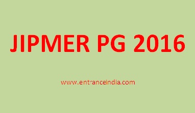JIPMER PG 2016 Fee Structure