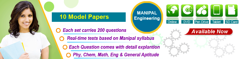 manipal engineering model question papers