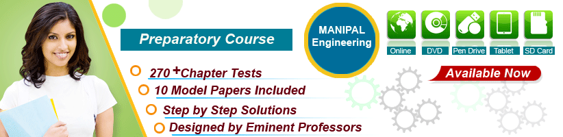 manipal engineering chapter tests and model papers