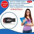 VITEEE (2018) 10 Set Models Pen Drive