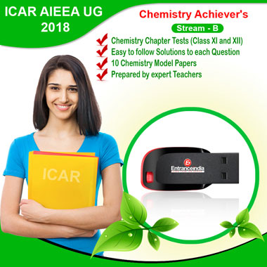 ICAR Stream B (2018) Achiever's Chemistry Pen Drive