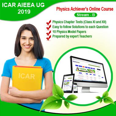 ICAR Stream B (2019) Achiever's Physics Online