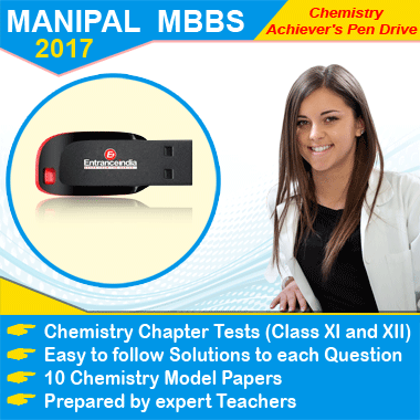 MANIPAL MBBS 2017 Achievers Chemistry Pen Drive