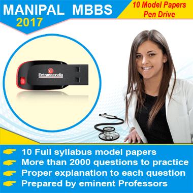 MANIPAL MBBS 2017 Modesl Pen Drive